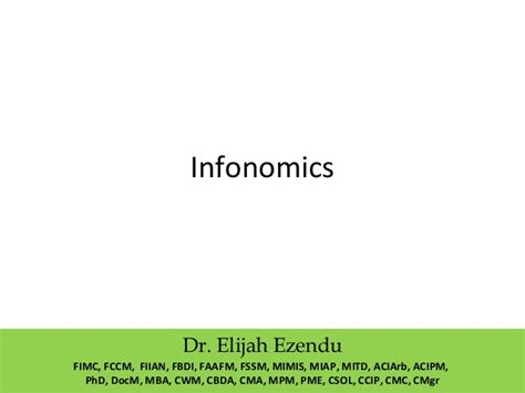 Mba Cus Visit Needed by Industrial Infonomics