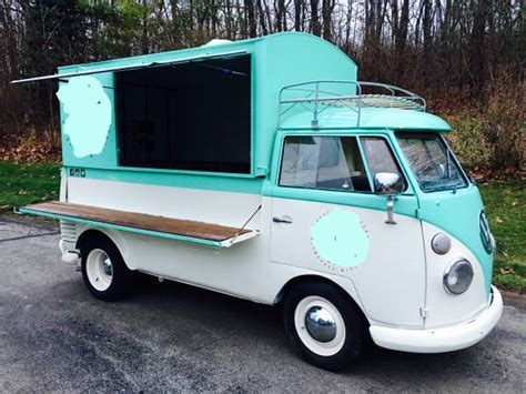 volkswagen kombi food truck 1960 vw screen custom food truck vw bus wagon