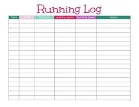 free blank half marathon training template calendar