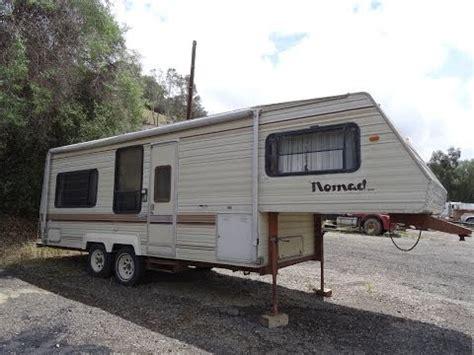 Fleetwood 5th Wheel Floor Plans by Rv Camper Trailer 5th Wheel Nomad Caravan For Sale Skyline