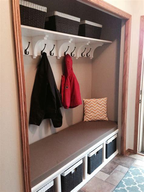 pin  charleen nielsen    home entryway closet