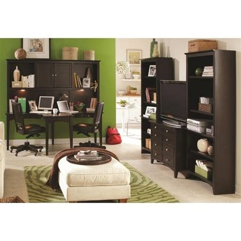 T Shaped Desk With Hutch Aspenhome E2 Midtown Two Person Dual T Curved Desk With Storage Hutch Combination Belfort