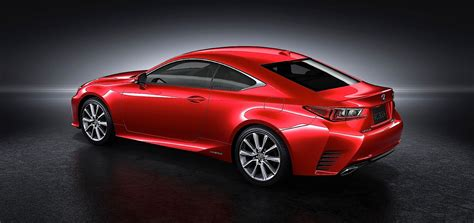 sporty lexus coupe lexus unveils rc sports coupe at 2013 tokyo show