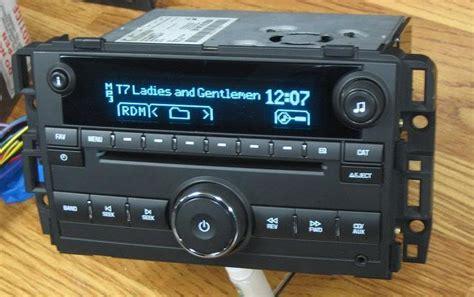 i need a 2008 gmc 1500 factory radio schematic inside wiring new unlocked 2007 2011 gmc suburban silverado radio cd mp3 truck suv