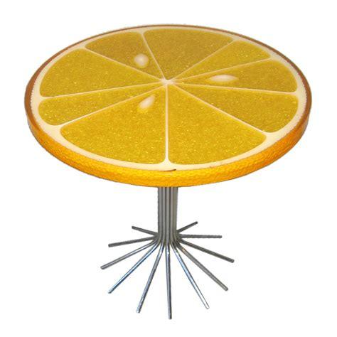 Orange End Table by Orange Slice End Table Designshell