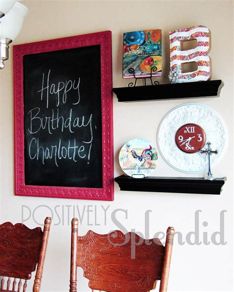 simple wall and decorative chalkboards decorative