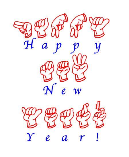 happy new year tagalog happy new year sign language and language