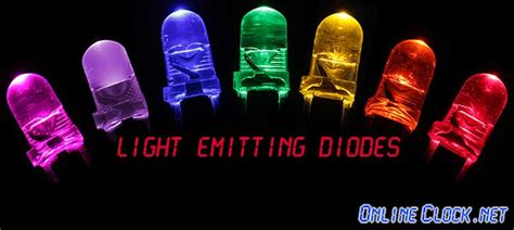 led diode history a history of the light emitting diode led by onlineclock