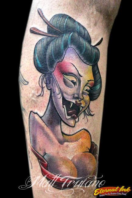 tattoo geisha pin up screaming geisha by matt truiano tattoo inspiration