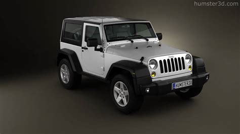 jeep models 2010 jeep wrangler rubicon hardtop 2010 by 3d model store