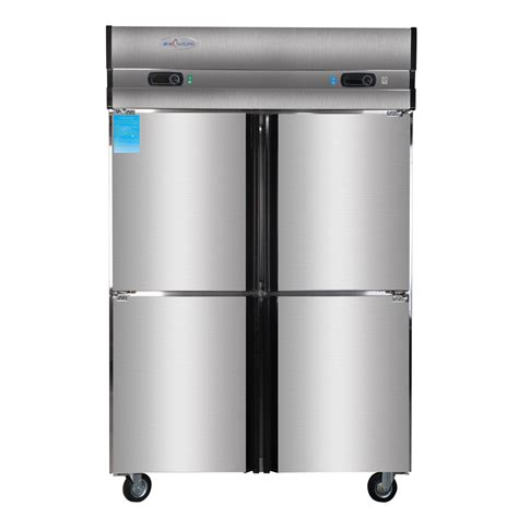 Cabinet Cooler by 1000l 4 Door Reach In Freezers Kitchen Stainless Steel