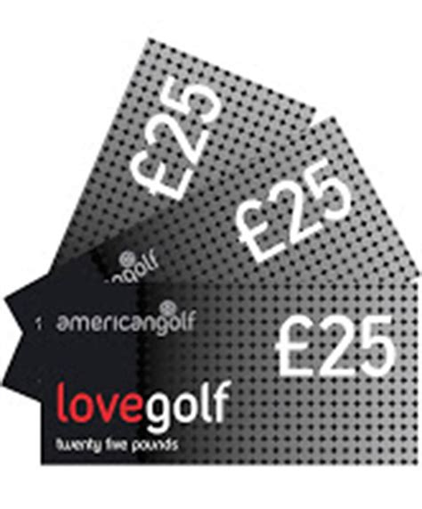 American Golf Gift Card - uk gift cards gift vouchers gift certificates online american golf gift vouchers