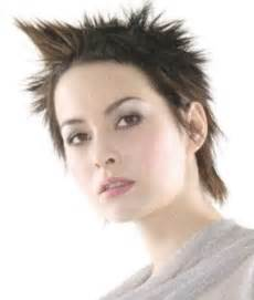 pic of back of spiky hair cuts trendy for short hairstyles short spiky hairstyles for women