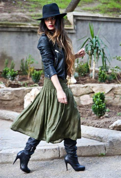 Overall Maxi Longdress Wanita Jumpsuit Rok Dress Denim Xl Jumbo how to wear a skirt style guide how to wear maxi skirt in winter things to wear
