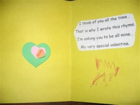 valentines day quotes for preschoolers preschool card poems lights card and