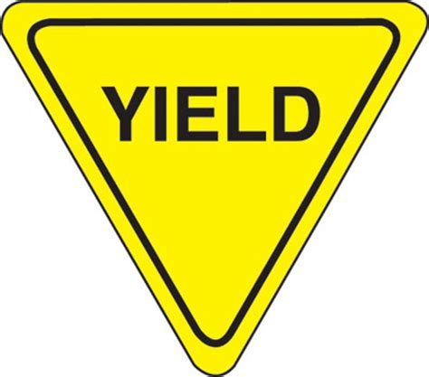 Decorative Accessories For Home n1020876 yield sign