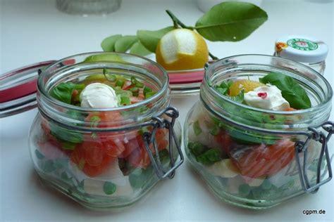 Rezepte F R Weckgl Ser 3455 by Rezepte F 252 R Weckgl 228 Ser Caesar Schicht Salat Im Glas
