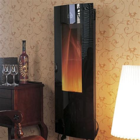 Vertical Electric Fireplace by Modern Flames Inferno 16 Inch Vertical Convex Electric