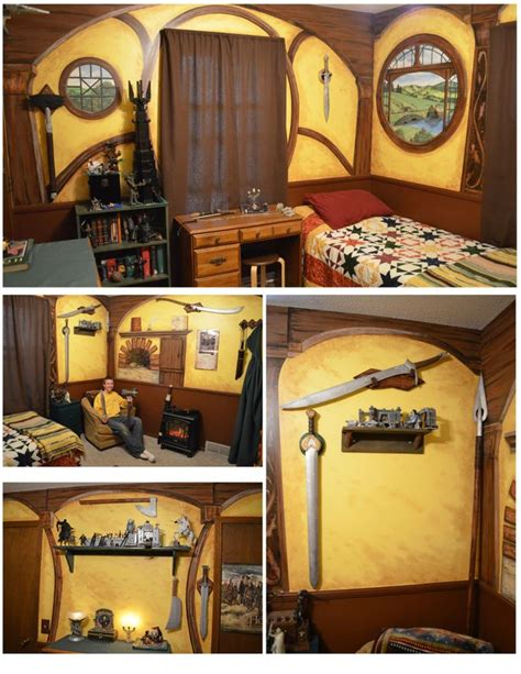 fandom themed bedroom hobbit hole bedroom why wasn t i born in rivendell pinterest hobbit hole