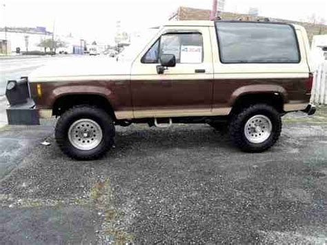 how cars run 1988 ford bronco transmission control find used 1988 ford bronco ii 4x4 in johnson city tennessee united states for us 13 000 00