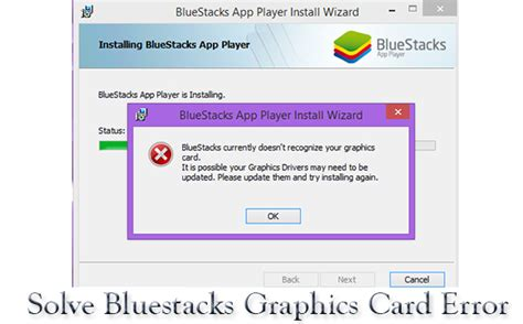 bluestacks troubleshooting solved install bluestacks without graphics card
