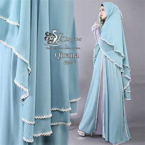 Qirana Khimar qirana syar i by lil gorgeous pusat grosir jilbab modern