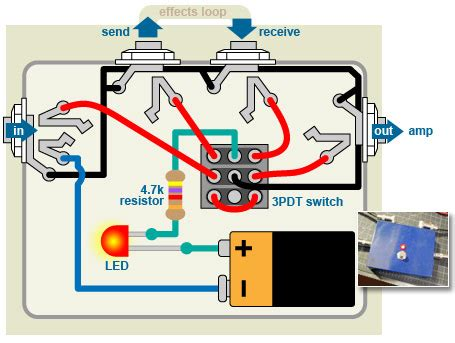 build  bypass pedal  turn  stompboxes