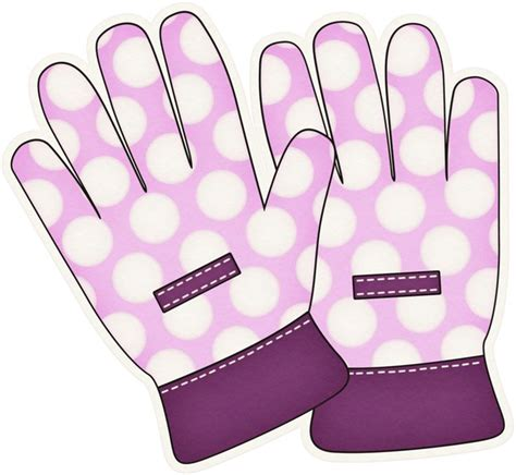 gloves clipart glove clipart gardening glove pencil and in color glove