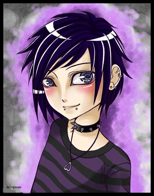 imagenes anime emo punk imagenes de emos