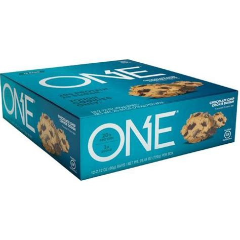 protein one oh yeah high protein one bar chocolate chip cookie
