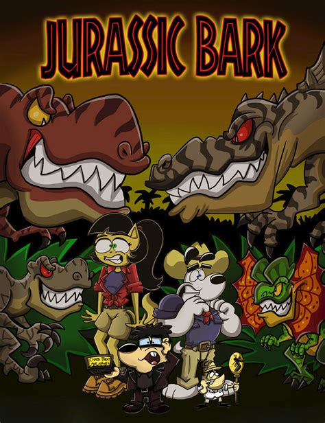 weird al yankovic jurassic park original song jurassic bark cover by shinragod on deviantart