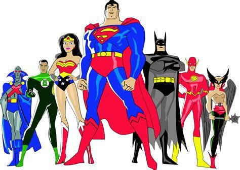 imagenes retro super heroes justice league retro clipart oh my fiesta for geeks
