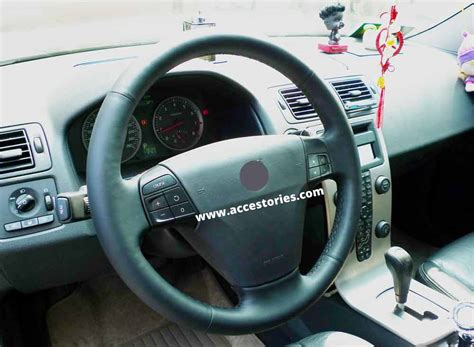 volvo steering wheel steering wheel recovering skin for volvo s40 v50 c30