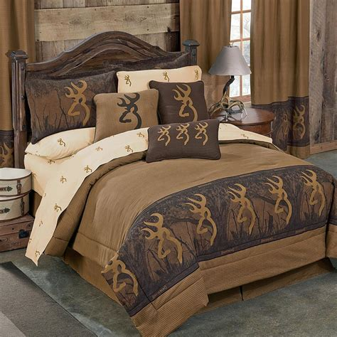 browning buckmark comforter browning buckmark oak tree bedding collection cabin place