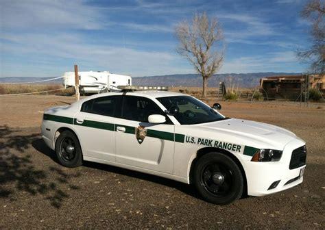 national park service white sands ranger vehicle