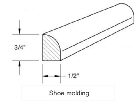 shoe molding vs quarter shoe molding quotes