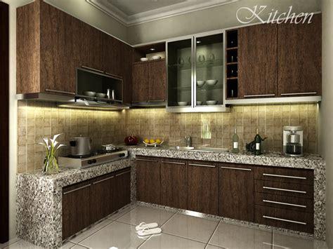 model desain kitchen set minimalis modern