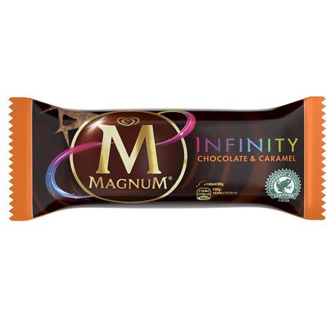 new magnum infinity offers chocolate pleasure