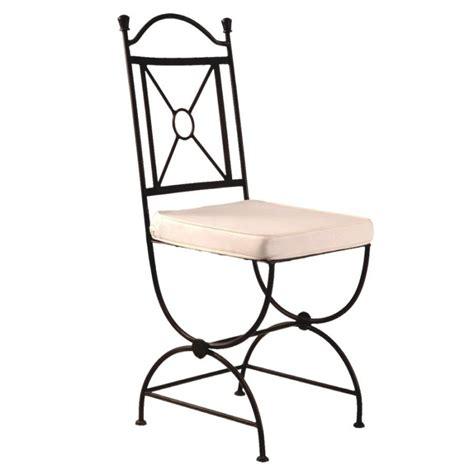 chaise en fer