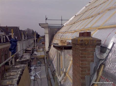 roof renovation of a listed building aluthermo