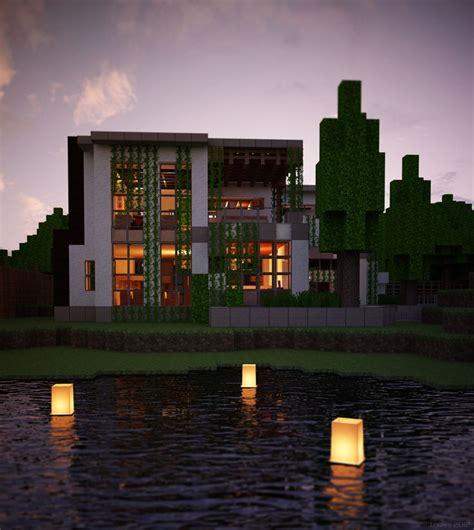 Modern Home Design Minecraft by Best 25 Modern Minecraft Houses Ideas On Pinterest