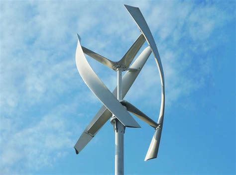 new wind turbine is silent sleek and designed to catch