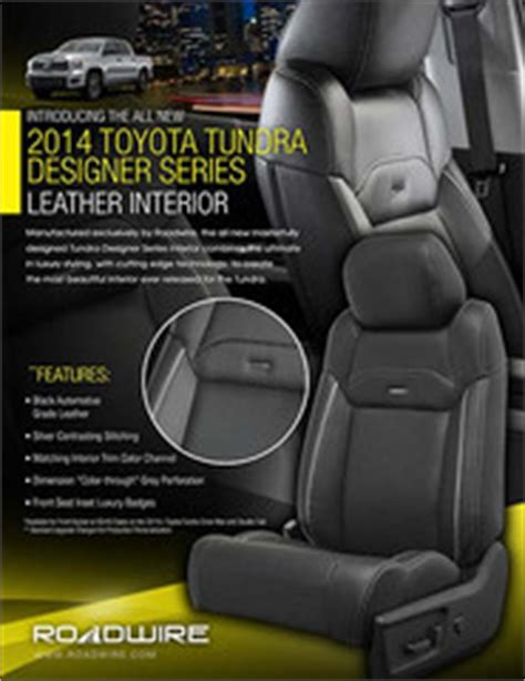 roadwire leather seats prices buy leather kit for toyota 14 18 tundra sr5 cab w