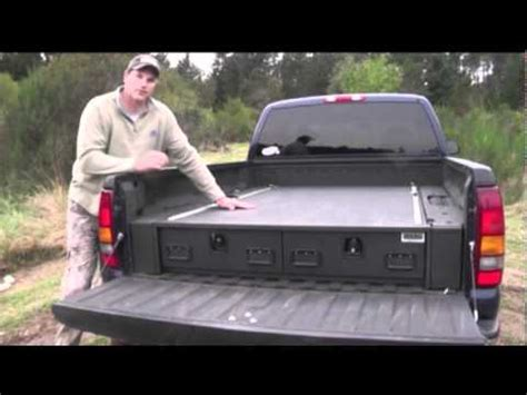truck bed gun safe truck vault youtube