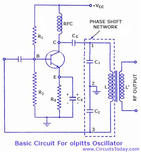 transistor oscillator colpitts oscillator circuit oscillator circuits next gr