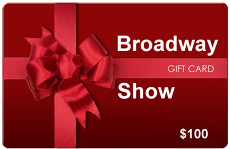 Can U Buy A Gift Card With A Gift Card - broadway show tickets gift certificates and broadway gift cards