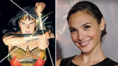 actor in new wonder woman movie gal gadot cast as wonder woman comics world reacts on
