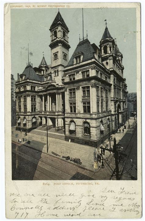 pittsburgh pa post office and pittsburgh on