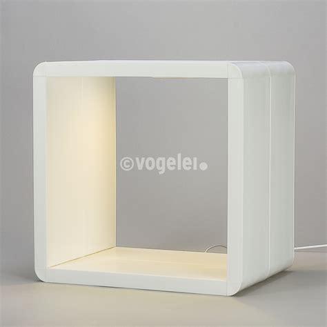 regal cube deco to go regal cube modul 1 1 beleuchtet weiss