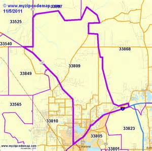 lakeland florida zip code map zip code map of 33809 demographic profile residential